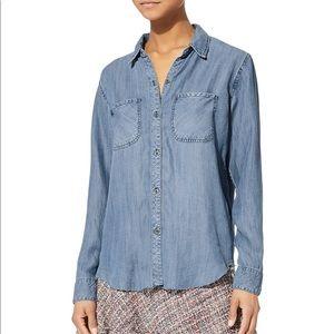 Rails carter dark vintage shirt , button up